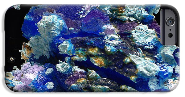 Carnegie Museum iPhone Cases - Abstraction 39 iPhone Case by Lynda Lehmann