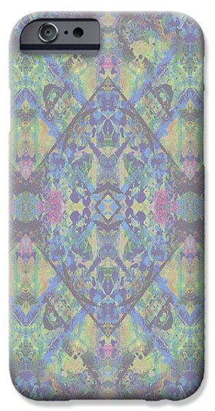 Geometric Design iPhone Cases - Acid iPhone Case by Beth Travers