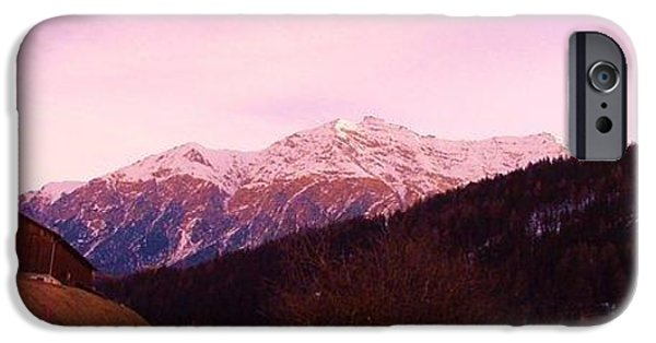 Switzerland Tapestries - Textiles iPhone Cases - Acquaton iPhone Case by Nila  Poduschco