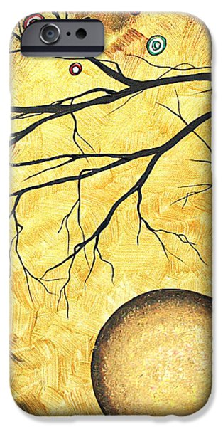 Across the Golden River by MADART iPhone Case by Megan Duncanson
