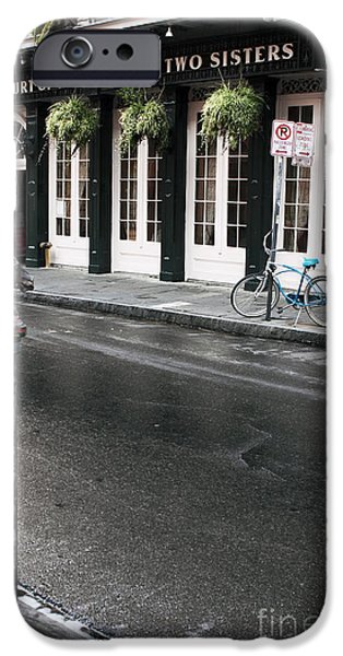 Across the Street iPhone Case by John Rizzuto