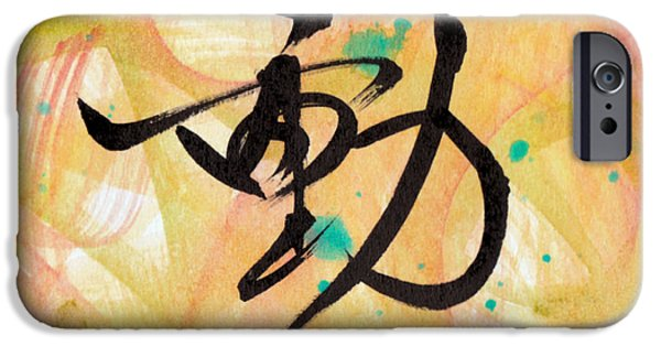 Buddhist iPhone Cases - Motion iPhone Case by Oiyee  At Oystudio