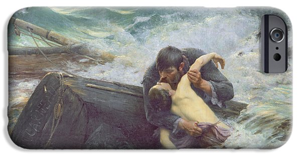 Shipping iPhone Cases - Adieu iPhone Case by Alfred Guillou