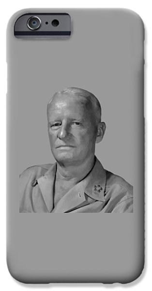 Admiral iPhone Cases - Admiral Chester Nimitz iPhone Case by War Is Hell Store