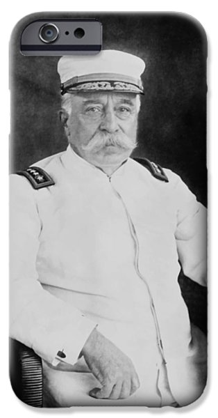 Admiral iPhone Cases - Admiral George Dewey iPhone Case by War Is Hell Store