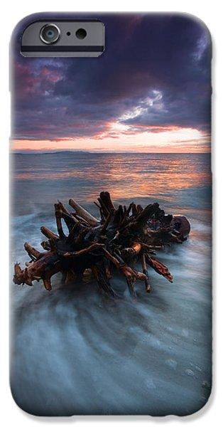 Adrift iPhone Case by Mike  Dawson