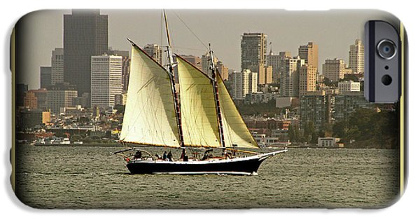 Sausalito iPhone Cases - Adventure iPhone Case by David Ross