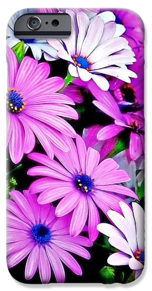 African Daisies - Arctotis stoechadifolia iPhone Case by Christine Till