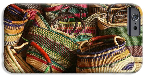 Basket Sculptures iPhone Cases - From the Hands of the People iPhone Case by Shaakira Edison
