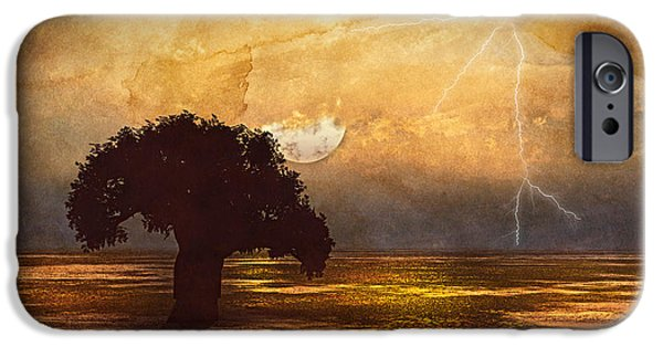 Airbrush Mixed Media iPhone Cases - African Memories  iPhone Case by Georgiana Romanovna