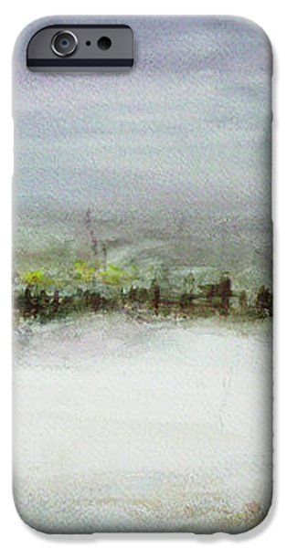 After a Heavy Fall of Snow iPhone Case by Xueling Zou