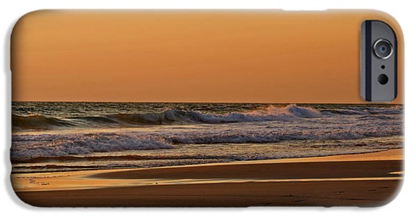Panama City Beach Photographs iPhone Cases - After A Sunset iPhone Case by Sandy Keeton