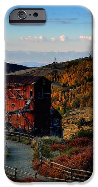 After The Gold Rush iPhone Case by Tim Reaves