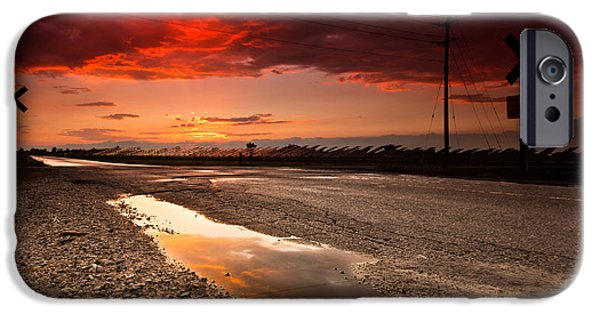 Sunset iPhone Cases - After the Storm iPhone Case by Cale Best