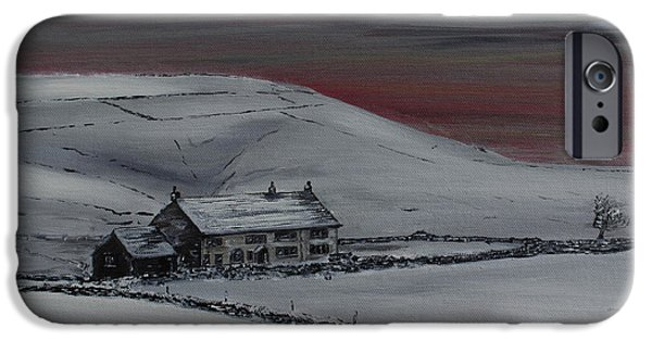 Winter Storm iPhone Cases - After the Storm  iPhone Case by David Coldwell