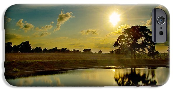 Sunset Tapestries - Textiles iPhone Cases - After the storm iPhone Case by James Hennis