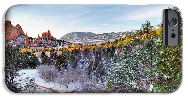 Winterscape iPhone Cases - After the Storm iPhone Case by Tim Reaves