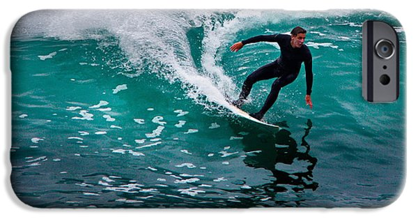 La Jolla Surfers iPhone Cases - After Work iPhone Case by Russ Harris