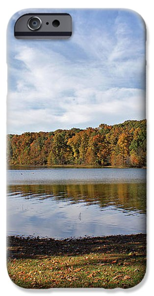 Afternoon at the Lake iPhone Case by Sandy Keeton