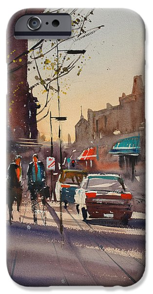 Wisconsin Paintings iPhone Cases - Afternoon Light iPhone Case by Ryan Radke
