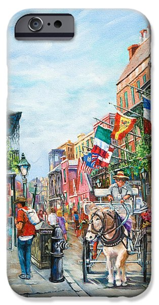 Pa iPhone Cases - Afternoon on St. Ann iPhone Case by Dianne Parks