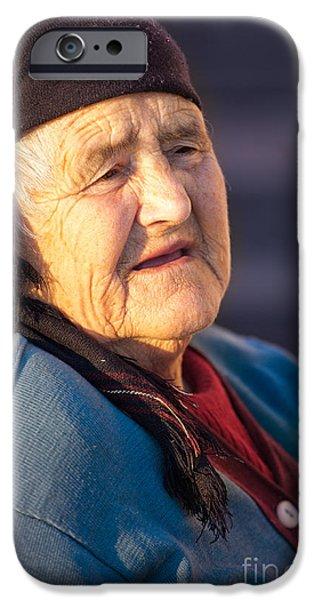 Mature Adult iPhone Cases - Age iPhone Case by Gabriela Insuratelu