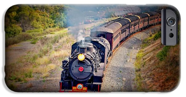 Nineteenth Digital iPhone Cases - Age Of Steam iPhone Case by Wallaroo Images