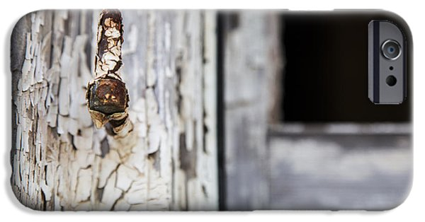 Ruin iPhone Cases - Aged To A Point iPhone Case by Karol  Livote