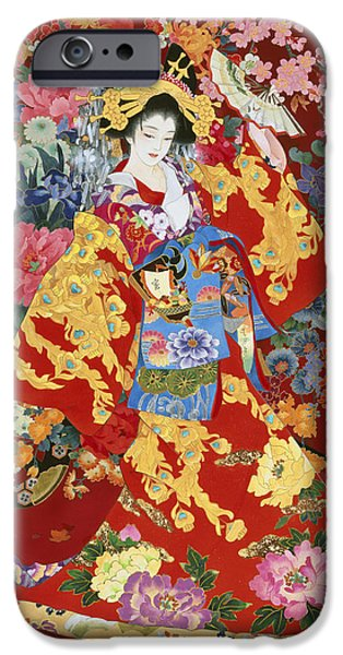 Culture iPhone Cases - Agemaki iPhone Case by Haruyo Morita