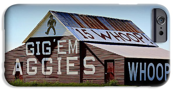 Ems iPhone Cases - Aggie Barn - Whoop  iPhone Case by Stephen Stookey