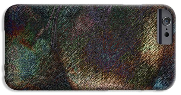 Manifestations iPhone Cases - Agglomeration iPhone Case by James Barnes