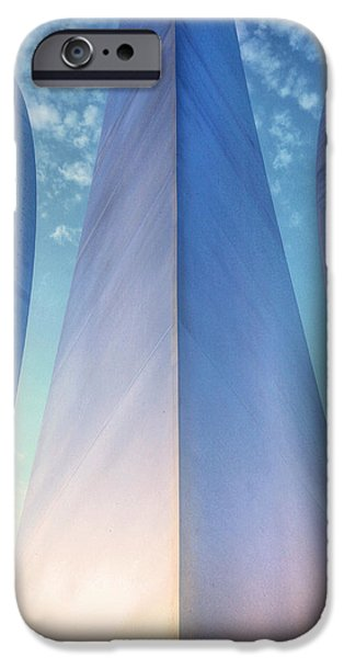 4th July Photographs iPhone Cases - Air Force Memorial iPhone Case by JC Findley