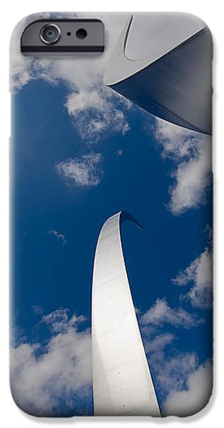 Air Force Memorial iPhone Case by Louise Heusinkveld