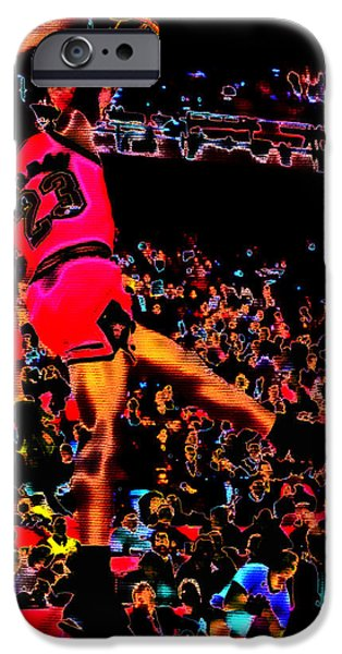 Charles Barkley iPhone Cases - Air Jordan 04 iPhone Case by Brian Reaves