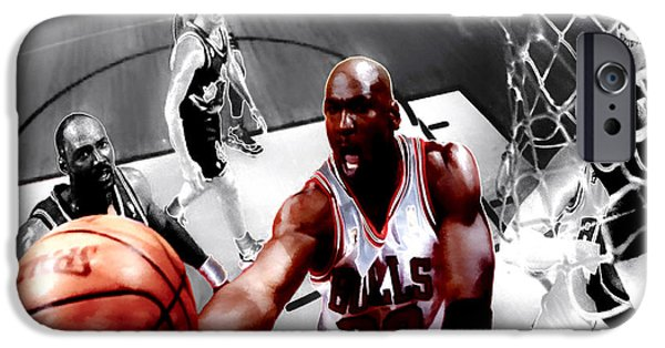 John Stockton iPhone Cases - Air Jordan 5g iPhone Case by Brian Reaves