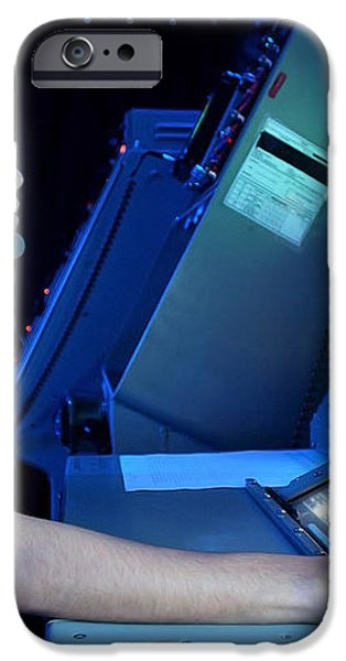 Air Traffic Controller Monitors Marine iPhone Case by Stocktrek Images