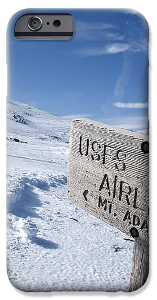 Airline Trail - White Mountains New Hampshire iPhone Case by Erin Paul Donovan