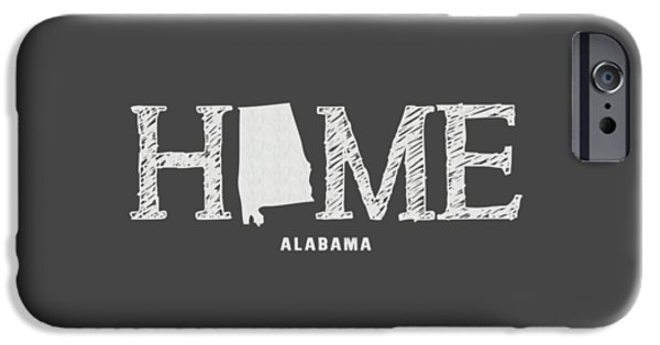 University Of Alabama iPhone Cases - AL Home iPhone Case by Nancy Ingersoll