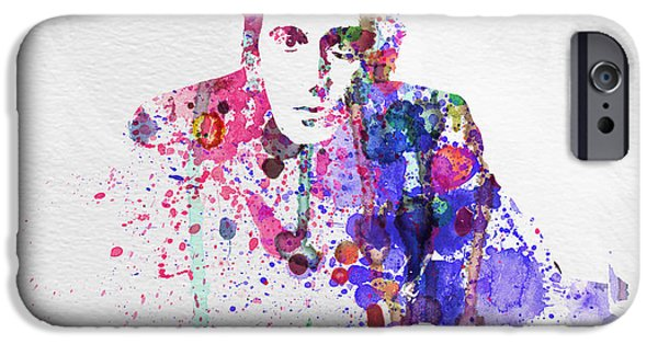 Scarface Paintings iPhone Cases - Al Pacino iPhone Case by Naxart Studio