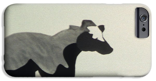 Farm Sculptures iPhone Cases - Ala Holstein I iPhone Case by Fritz Lipp