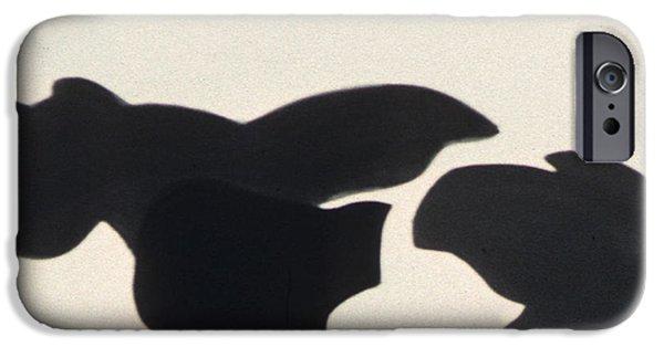 Farm Sculptures iPhone Cases - Ala Holstein II iPhone Case by Fritz  Lipp