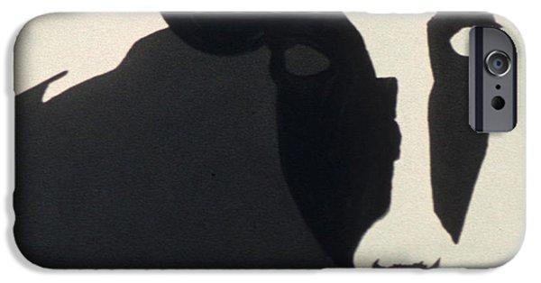 Farm Sculptures iPhone Cases - Ala Holstein III iPhone Case by Fritz  Lipp
