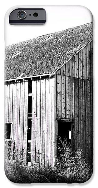 Albert City Barn 3 iPhone Case by Julie Hamilton