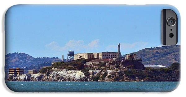 Alcatraz iPhone Cases - Alcatraz  iPhone Case by Debby Pueschel