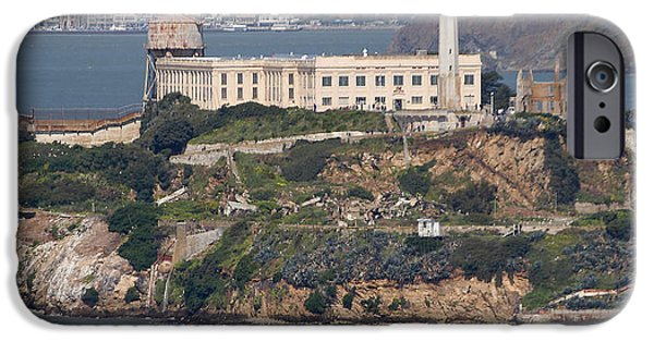 Alcatraz Mixed Media iPhone Cases - Alcatraz iPhone Case by Frederick Holiday