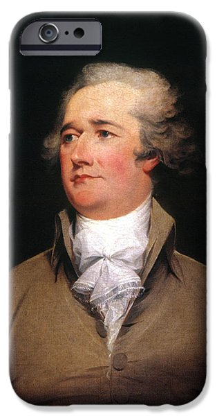 ALEXANDER HAMILTON iPhone Case by Granger