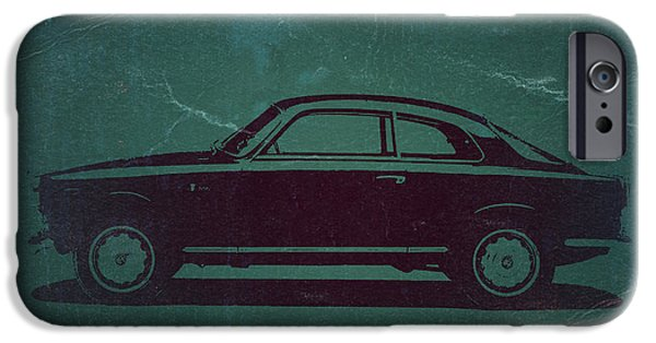 Old Car iPhone Cases - Alfa Romeo GTV iPhone Case by Naxart Studio