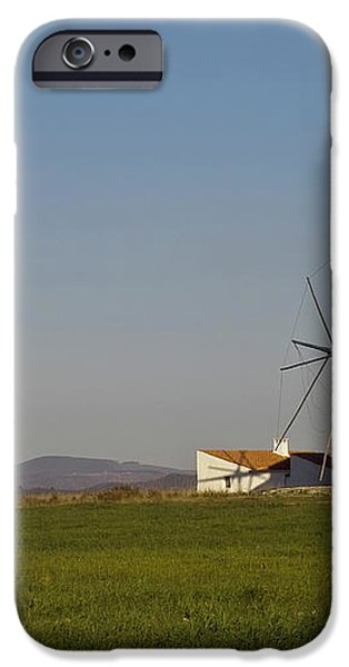 Algarve windmill iPhone Case by Heiko Koehrer-Wagner