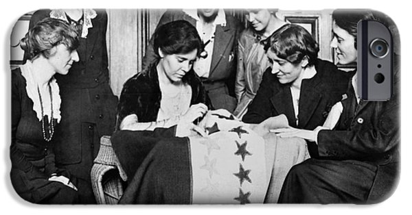 Reformer iPhone Cases - Alice Paul (1885-1977) iPhone Case by Granger