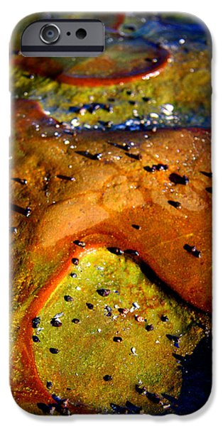Nature Abstract iPhone Cases - Alien To Me iPhone Case by Kreddible Trout